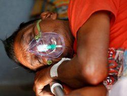 Covid-19 Menggila, India Krisis Suplai Oksigen