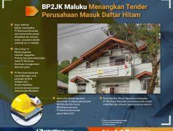 Gawat! BP2JK Maluku Menangkan Perusahaan Blacklist di Tender Proyek Rehabilitasi Sekolah Rp 26 Miliar