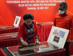 Megawati Resmikan Kantor Baru DPD PDIP Maluku