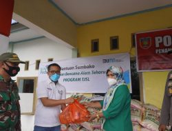 PLN UIW Maluku-Malut Salurkan Bantuan untuk Warga Tehoru Terdampak Gempa