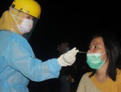 Terjaring Razia, Satgas Covid-19 Ternate Tes Antigen Warga Tanpa Masker